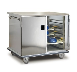 New ETC-1520-24 Quiet Ride Patient Food Transport Cart