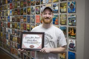 FWE's Extra Mile Award - David Hunter