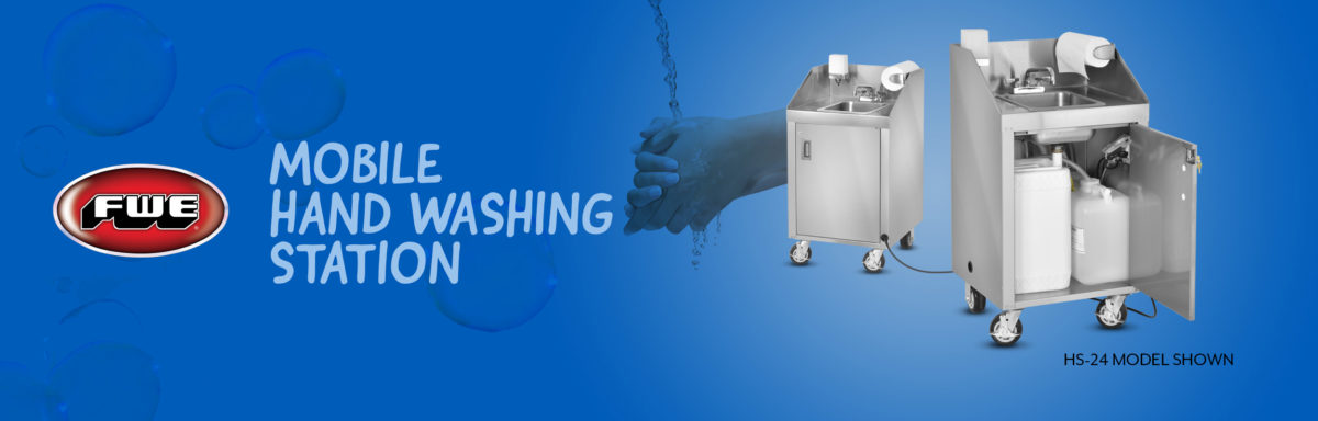 FWE's Mobile Hand Washing Station (Model HS-24)